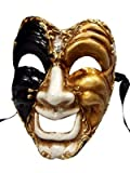 'Happy Face Theater Volto Full Face Masquerade venezianische Maske