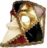 Karneval Venezianische Maske - Bauta scacchi colore