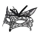 Sharplace Damen Maskerade Maske Spitze Kristall Strass Karneval Venezianische Maske Augenmaske Halbmaske Maskenball - Stil 10
