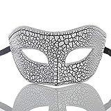 Iceclubs Maske - Party Ball Venice Maske - Weihnachten / Halloween / Karneval - Weiß,Maskerade Maske Musical Party Glocken Mardi Gras Party Venedig Halloween