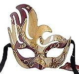 LannaKind Handgefertigte Venezianische Maske Augenmaske Colombina (Cl2)