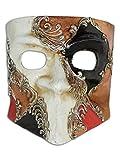 Venezianische Gesichtsmaske Bauta Luca für Männer
