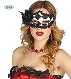 Guirca Sexy venezianische Harlekin Maske für Damen