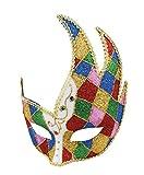 Boland 00200 Augenmaske Venice Jester, One Size