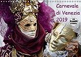 Carnevale di Venezia 2019 (Wandkalender 2019 DIN A4 quer): Karneval in Venedig (Geburtstagskalender, 14 Seiten ) (CALVENDO Menschen)