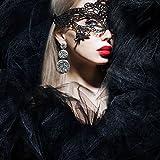 Dojore schwarz venezianischen Fancy Kleid Spitze Maske. Perfekt für, Bälle, Partys & Eye Kostüm