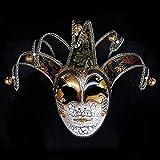 Iceclubs Maske - Ladies Party Ball Crack Maske - Weihnachten / Halloween / Karneval - Schwarz,Maskerade Maske Musical Party Glocken Mardi Gras Party Venedig Halloween
