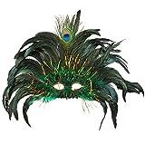 Boland BOL00265 Augenmaske Peacock Queen
