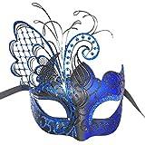 Maskerade Maske für Frauen venezianische Maske / Halloween / Party / Ball Prom / Mardi Gras / Hochzeit / Wanddekoration-Blue Schmetterling