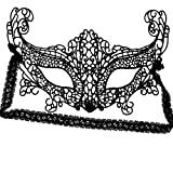 SoulCats® Schwarze venezianische Augen Maske aus Spitze