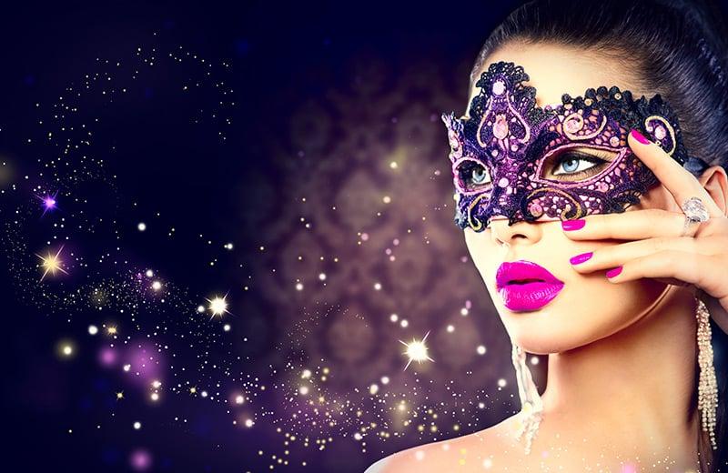 Anleitung: Venezianische Maske selbst basteln