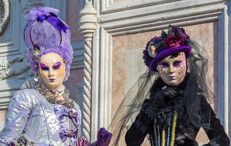 Venezianische Kostüme