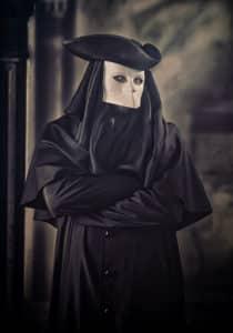 Venezianische Maske: Bauta