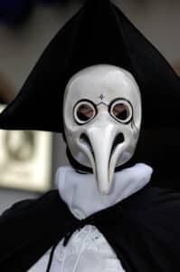 Venezianische Maske: Medico Della Peste
