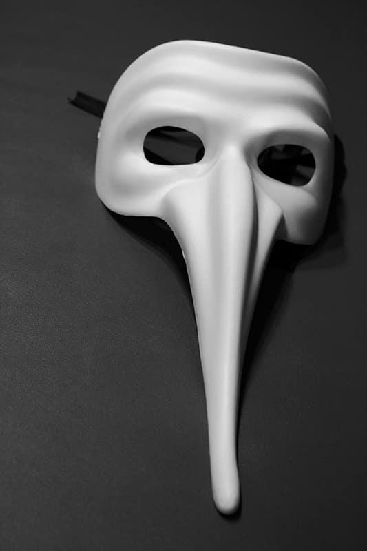 Venezianische Maske Zanni